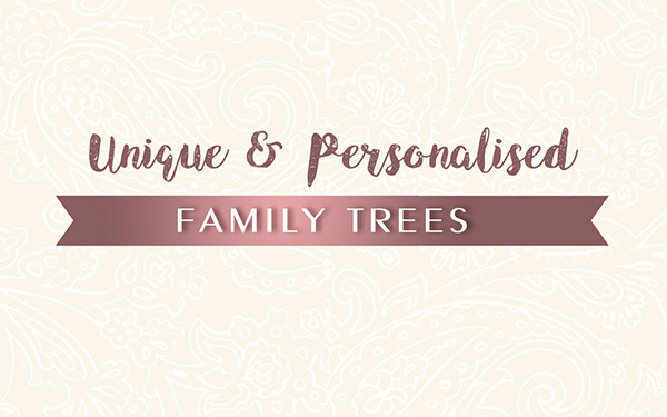 Personalised Family Tree Art